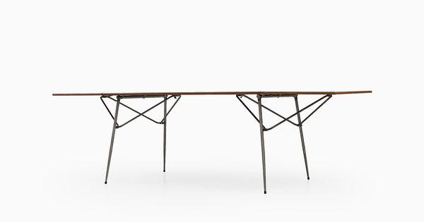 Dining table in teak table tisch design b rge for Design tisch enzo