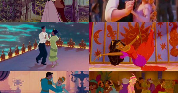 Dancing Disney Characters