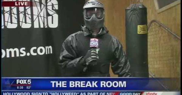 Atlanta S Break Room Is All The Rage Ours Is Coming Soon Break Room Rage Hollywood Sign