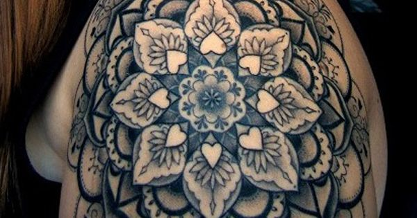 55 Awesome Shoulder Tattoos | Cuded. I like this one. Though I
