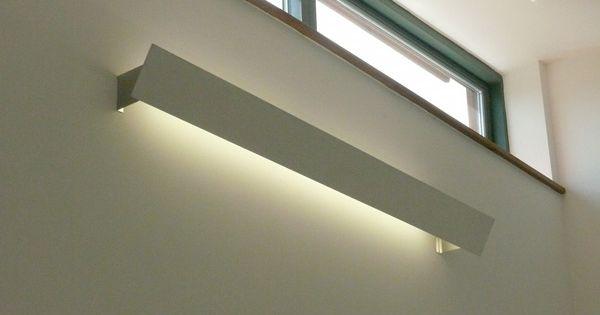T5 pelmet light with aluminium brackets home reno - Cornisa para led ...