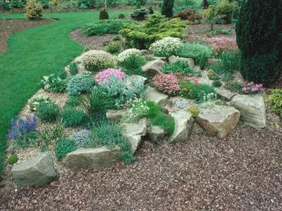 Comment construire un jardin de rocaille  fleurs et ...