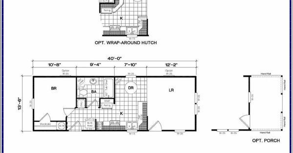 14x40 cabin floor plans tiny houses pinterest floors