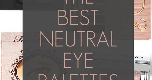 Natural Eye Palettes