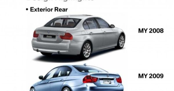 Difference Between Lci And Pre Lci Bmw 3 Series Bmw Series Bmw