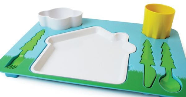 Landscape Kid Dinner Set