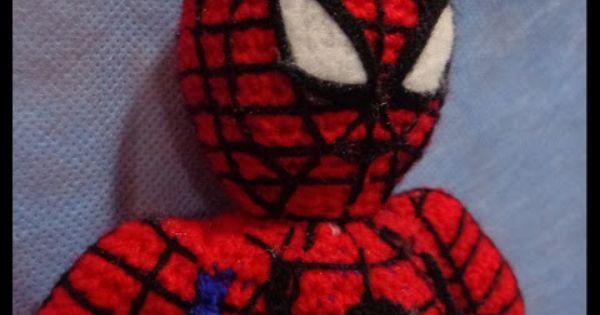 Amigurumi Spiderman Patron : Spiderman Amigurumi ~ Patron Gratis en Castellano ( patron ...