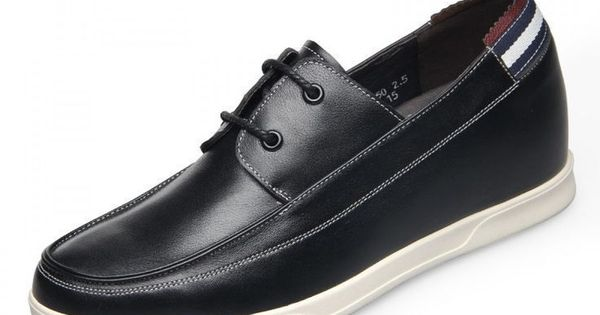 Ultra Light Cowhide Elevator Casual Shoes 6cm 236inch