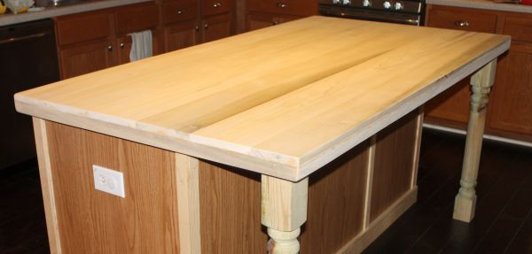 How To Create Faux Reclaimed Wood Countertops Countertop