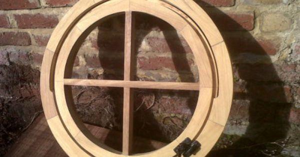 Brand New Bespoke Round Wooden Window Frame Solid Hardwood Circular Window Ebay 490 00 Wooden Window Frames Window Frame Wooden Windows