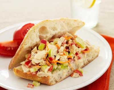 Healthy Tuna Salad 2 can(s) (5 ounces each) chunk light tuna in