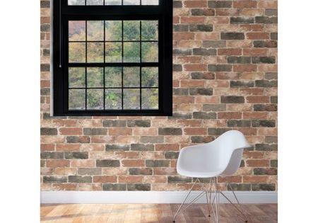 Home Improvement Peel And Stick Wallpaper Brick Wallpaper Reclaimed Brick