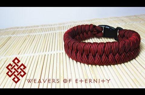 Basket Weave Paracord Bracelet Tutorial : Fishtail paracord bracelet tutorial best i ve