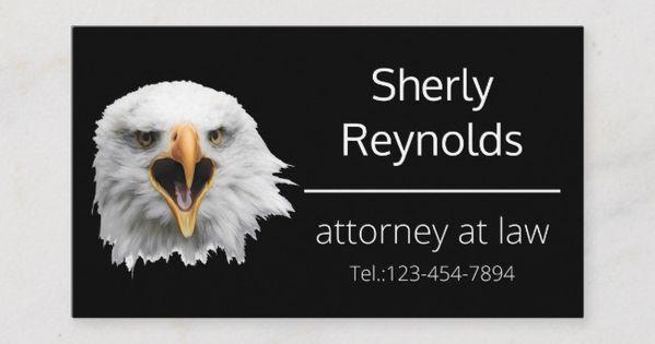 Bald Eagle Splendid Customizable Business Card Zazzle Com