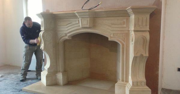 Templestone Masonry's Ornate Italian fireplace. The mantel ...