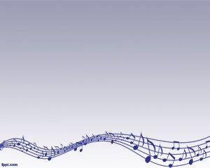 Music Lyrics Powerpoint Template Free Powerpoint Templates Music Backgrounds Background Powerpoint Templates