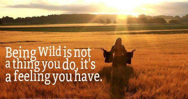American Hippie ☮ Being Wild