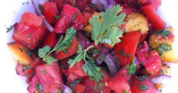 Late summer, Cubicles and Tomato salad on Pinterest
