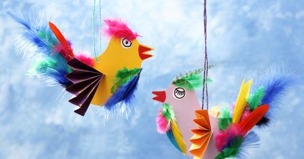 vogel paradiesvogel diy basteln mit kindern. Black Bedroom Furniture Sets. Home Design Ideas
