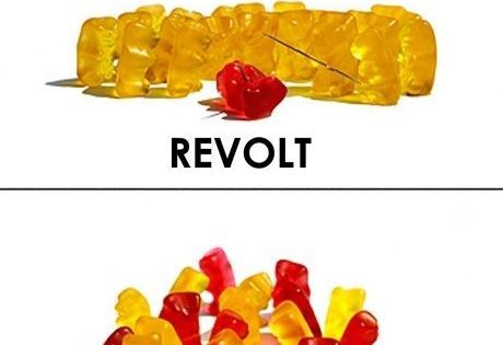 teaching government systems with gummy bears  i love using unconventional means to teach an idea