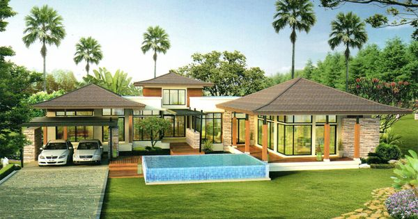 Tropical Home Plans Remarkable Enormous Split Houses In