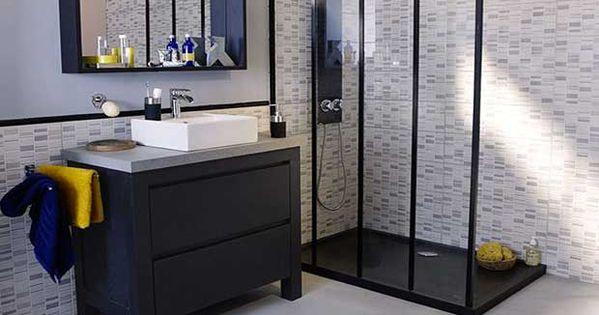 15 petites salles de bains pleines d 39 id es d co carrelage b ton cir couleur zen et carrelage - Beton cire salle de bain couleur ...