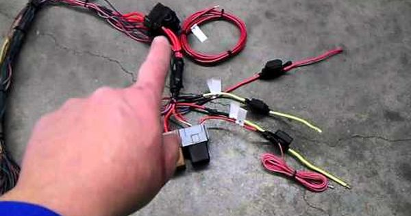 Ls1 Standalone Wiring Harness For Sale : Diy standalone harness ls wiring elsavadorla
