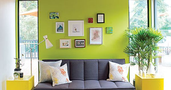 Readymade backyard cottage modern cottage green accent walls and backyard cottage - Readymade wall partitions ...