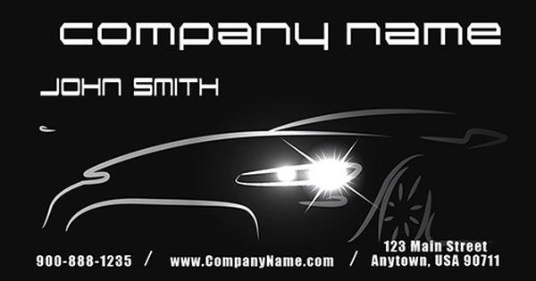 Car Dealer Automotive Business Card Design 501011 Free Business Card Templates Business Card Design Business Card Template
