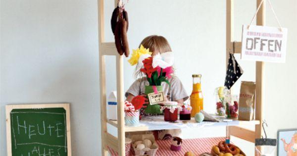 wir zeigen wie sie einen kaufladen f r ihre kinder selber bauen k nnen und geben anregungen. Black Bedroom Furniture Sets. Home Design Ideas