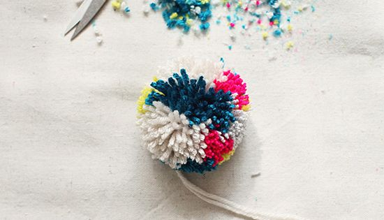 #diy craft idea kids 8 Awesome Pom Pom Crafts