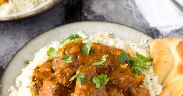 Crock pot indian butter chicken easy healthy recipe for Easy healthy chicken recipes for crock pot