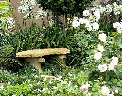 Lovely tranquil garden spot new yard pinterest for Tranquil garden designs