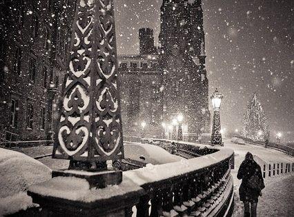 Edinburgh - lovely in black white