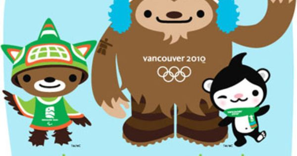 Character Design Vancouver : Vancouver olympics mascots what in the world are they
