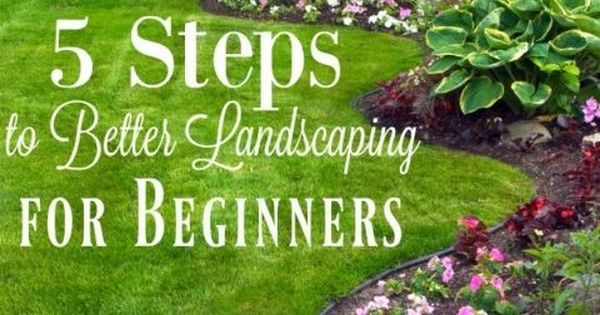 5 Landscaping Tips For Beginners Super Easy Yards And