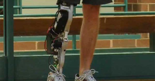 Cool Bionic Leg From Vanderbilt University Bionic Vanderbilt