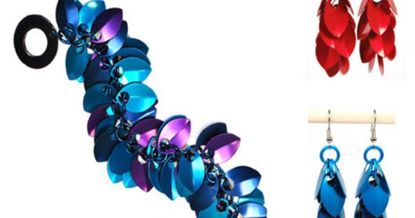 Shaggy Scales - Project | Blue Buddha Boutique | Chain maille weaves ...