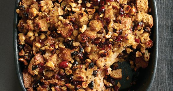 Rosemary Whole-Wheat Stuffing with Figs and Hazelnuts ...
