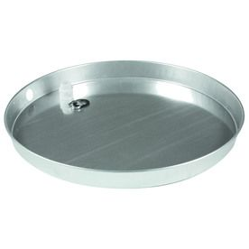 Camco 30 In Aluminum Water Heater Drain Pan With Fitting 20864 0 In 2020 Water Heater Camco Electric Water Heater