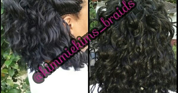 Crochet Hair Install : Crochet..freetress loose appeal. Cut after install KimmieKims ...