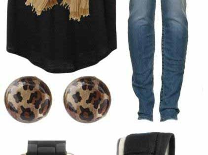 """Little Bit of Leopard"" by qtpiekelso on Polyvore Clothes Outift for •"