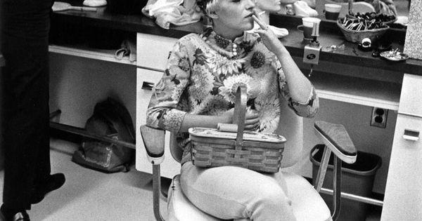 Enrico Natali. 'Beauty salon client smoking, Detroit, 1968 ...