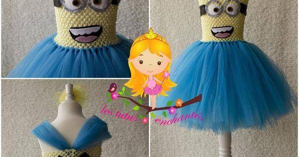 D guisement robe minion 4 5 ans v tements enfants les - Deguisement minion fait maison ...