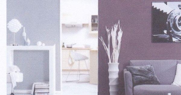 Couleur gris perle et prune recherche google for Recherche decoration maison