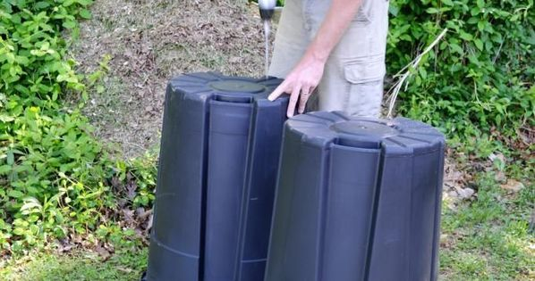 how to make a compost tumbler fast cheap and easy