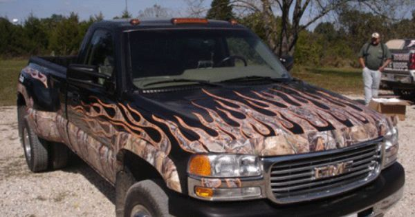 Camo Flames Are No Longer Available Looking For A Little Flame But Want Something A Lillte More Your Outdoors Style Camo Fla New Trucks Camo Wraps Car Wrap