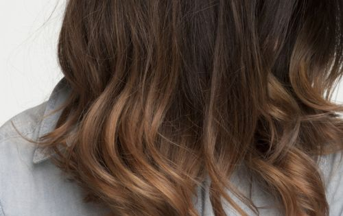 warm brown ombre...thinking this could be perfect for fall | Hair color