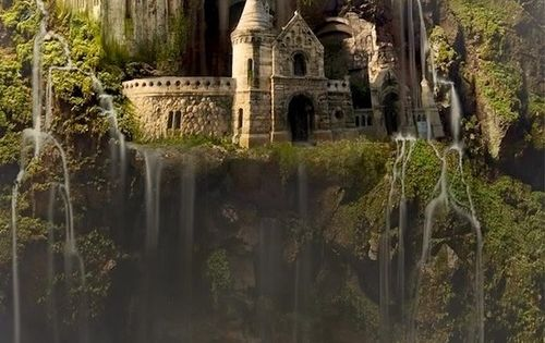 Waterfall Castle, The Enchanted Wood - 17 Astonishing Photos That You must