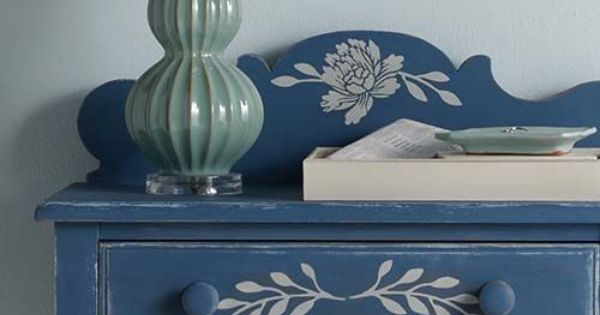 New Vintage Decor Paint With A Matte